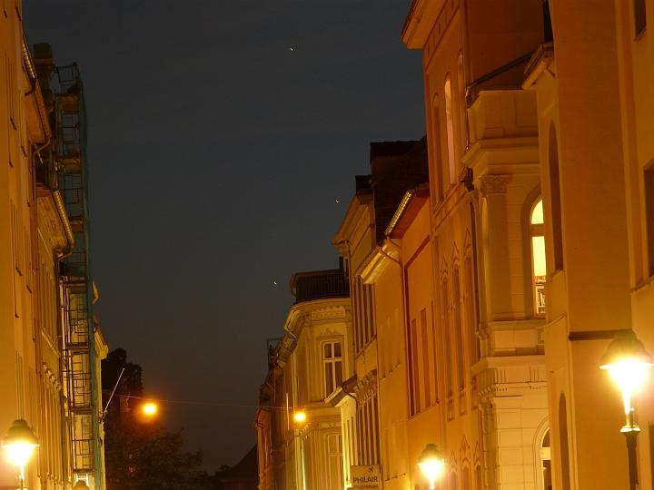 Saturn, Mars und Spika (12.08.2012, 22:03 MESZ)